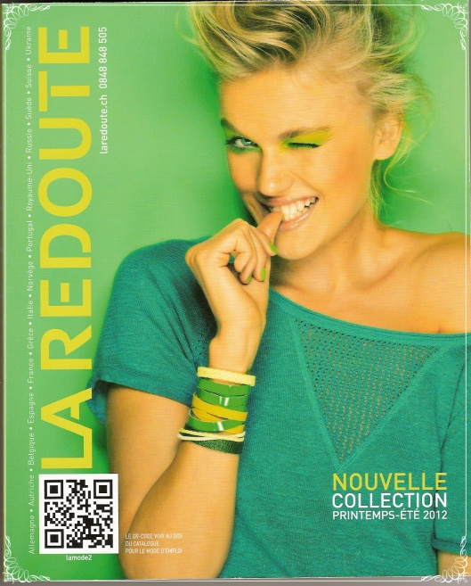 Catalogue la redoute collection printemps t 2012 tr s rafra chissante - La redoute catalogue blanc ...